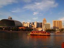 Välkomnande till Singapore Arkivbilder