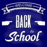 Välkomnande till skolan, tillbaka till skolan Royaltyfria Bilder