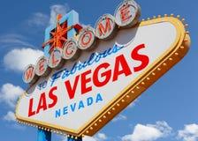 Las Vegas undertecknar Royaltyfri Bild