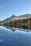 Vällingen av Glencoe, Skotska högländerna, Skottland Arkivbilder