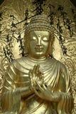 välsignar buddha arkivbild