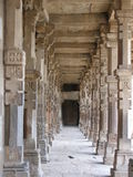 välva sig delhi minar ny qutab Royaltyfri Bild