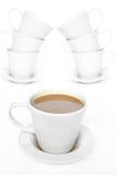 välva sig kaffe Arkivbilder