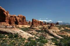 välva sig nationalparken Arkivfoton