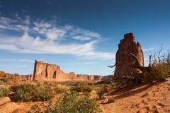 Välva sig nationalparken Fotografering för Bildbyråer