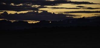 Välva sig nationalparken på soluppgång royaltyfri bild