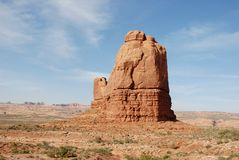 välva sig nationalparken USA utah Arkivfoto