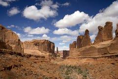välva sig nationalparkpatriarker Royaltyfri Foto