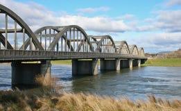 välvd bro Royaltyfria Foton