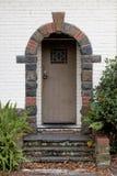 välvd dörröppning Royaltyfri Foto