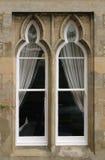 välvt fönster Arkivfoto