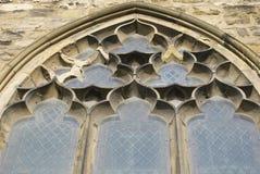 välvt fönster Royaltyfri Foto