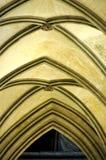 välvt gotiskt för domkyrkatak Royaltyfria Foton