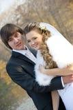Vänbröllopsresa Arkivfoton