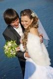 Vänbröllopsresa royaltyfri foto