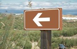 Vänd till det vänstert Fotografering för Bildbyråer