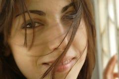 vänd womans mot Fotografering för Bildbyråer