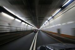 vända för tunnel för bil rusa Royaltyfri Foto