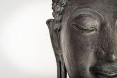 Vända mot buddha Arkivfoton