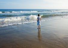 vända waves mot Royaltyfri Foto