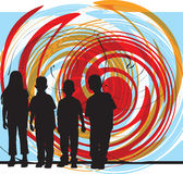 vänillustrationvektor Fotografering för Bildbyråer