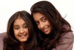 vänindier två royaltyfria bilder