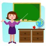 vänlig lärare Royaltyfria Foton