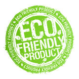 vänlig produktstämpel för eco Royaltyfri Fotografi