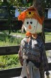 Vänlig scarecrow Royaltyfria Bilder