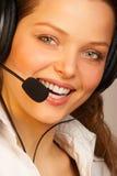 vänlig serviceservice Arkivbild