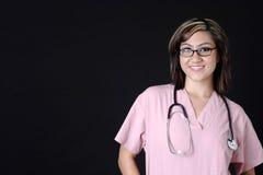 vänlig sjuksköterska Royaltyfria Foton