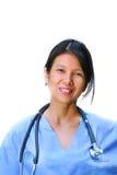 vänlig sjuksköterska för kvinnlig Royaltyfri Fotografi