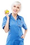 vänlig sjuksköterskawhite för bakgrund arkivfoton