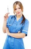 vänlig sjuksköterskawhite för bakgrund royaltyfria foton