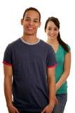 vänliga tonåringar Fotografering för Bildbyråer