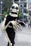 vänligt skelett Arkivbild