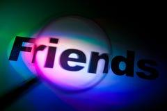 vänner Arkivbild