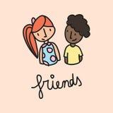 vänner Arkivfoto