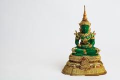 vänster skugga för buddha smaragd Fotografering för Bildbyråer