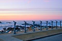 vänstersida mer nr.turister Arkivbilder
