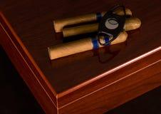 vänta för cigarrer Royaltyfri Fotografi