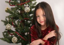 vänta för jul arkivbild
