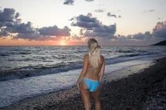 vänta för kust Royaltyfria Bilder