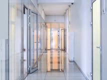 vänta för lokal för bild för korridor 3d inre Royaltyfri Bild