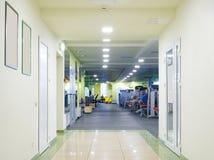 vänta för lokal för bild för korridor 3d inre Fotografering för Bildbyråer