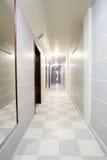 vänta för lokal för bild för korridor 3d inre Royaltyfria Bilder