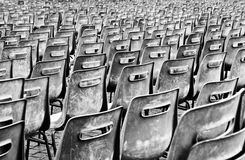 vänta för stolar Fotografering för Bildbyråer