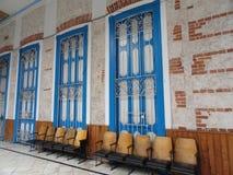 Väntande korridor Royaltyfri Fotografi