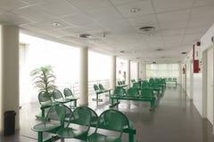 Väntande område för offentlig byggnad E inget arkivfoton