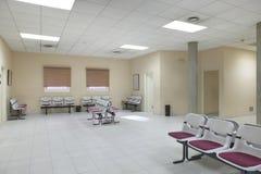 Väntande område för offentlig byggnad Inre detalj för sjukhus inget royaltyfri bild